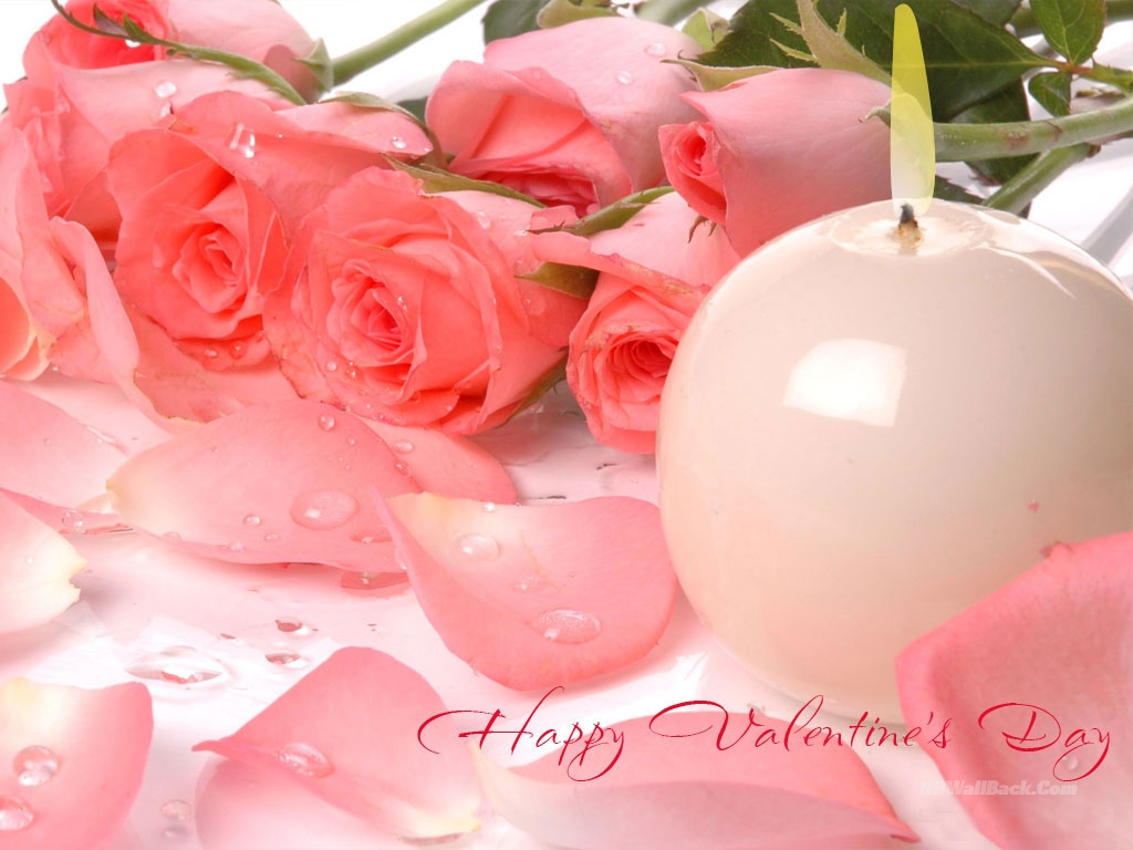 HD Valentine Flowers Wallpaper