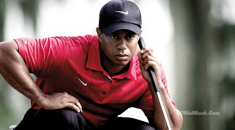 Tiger woods Happy Style download full hd wallpapers