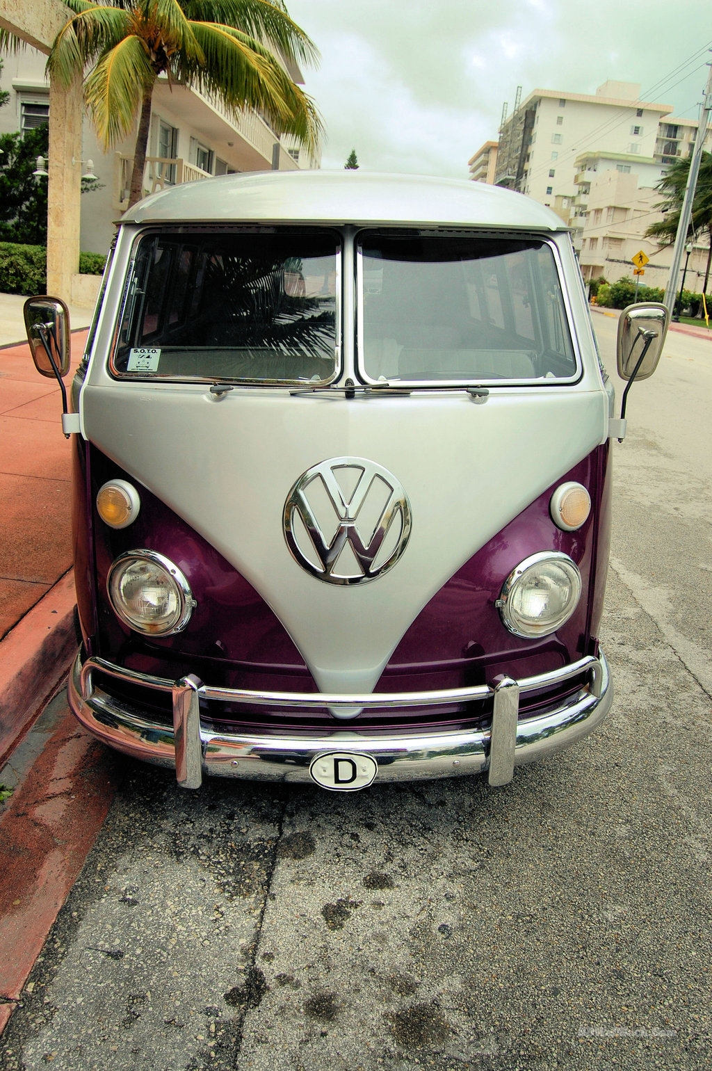 Vintage VW Bus 33 Cool HD