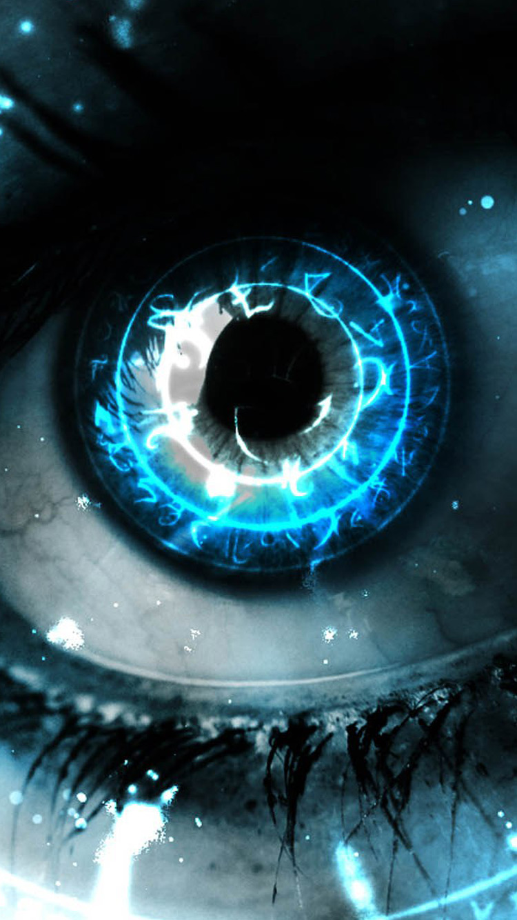 3D Eye iPhone 6 Wallpaper