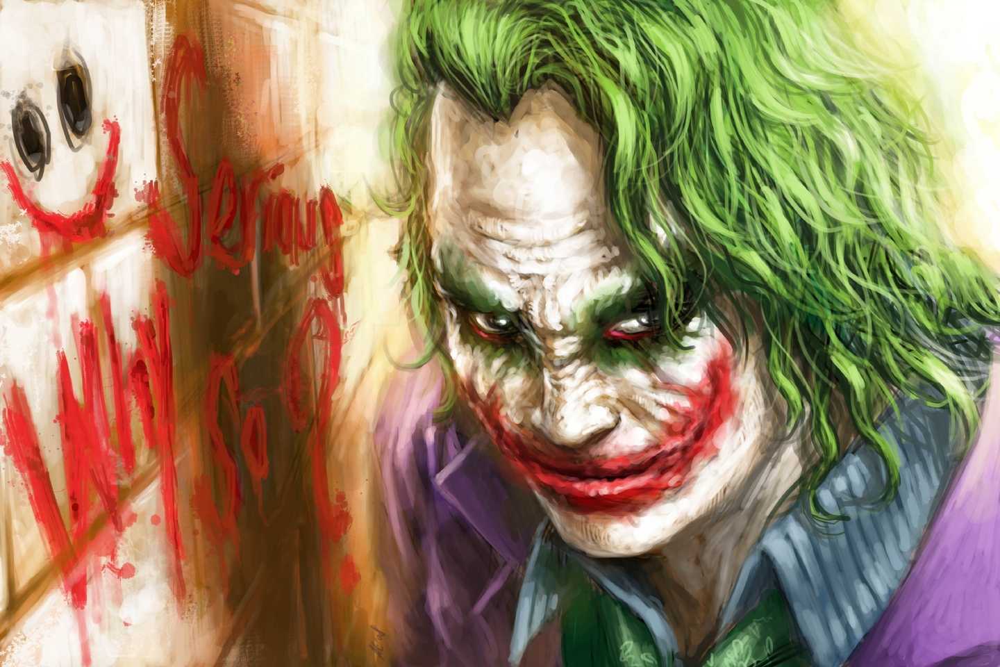 Joker Why So Serious Hd Fondos