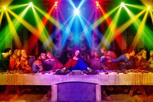 Last supper party wallpaper