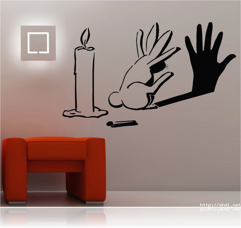 fascinating beautiful wall-decal inspiration