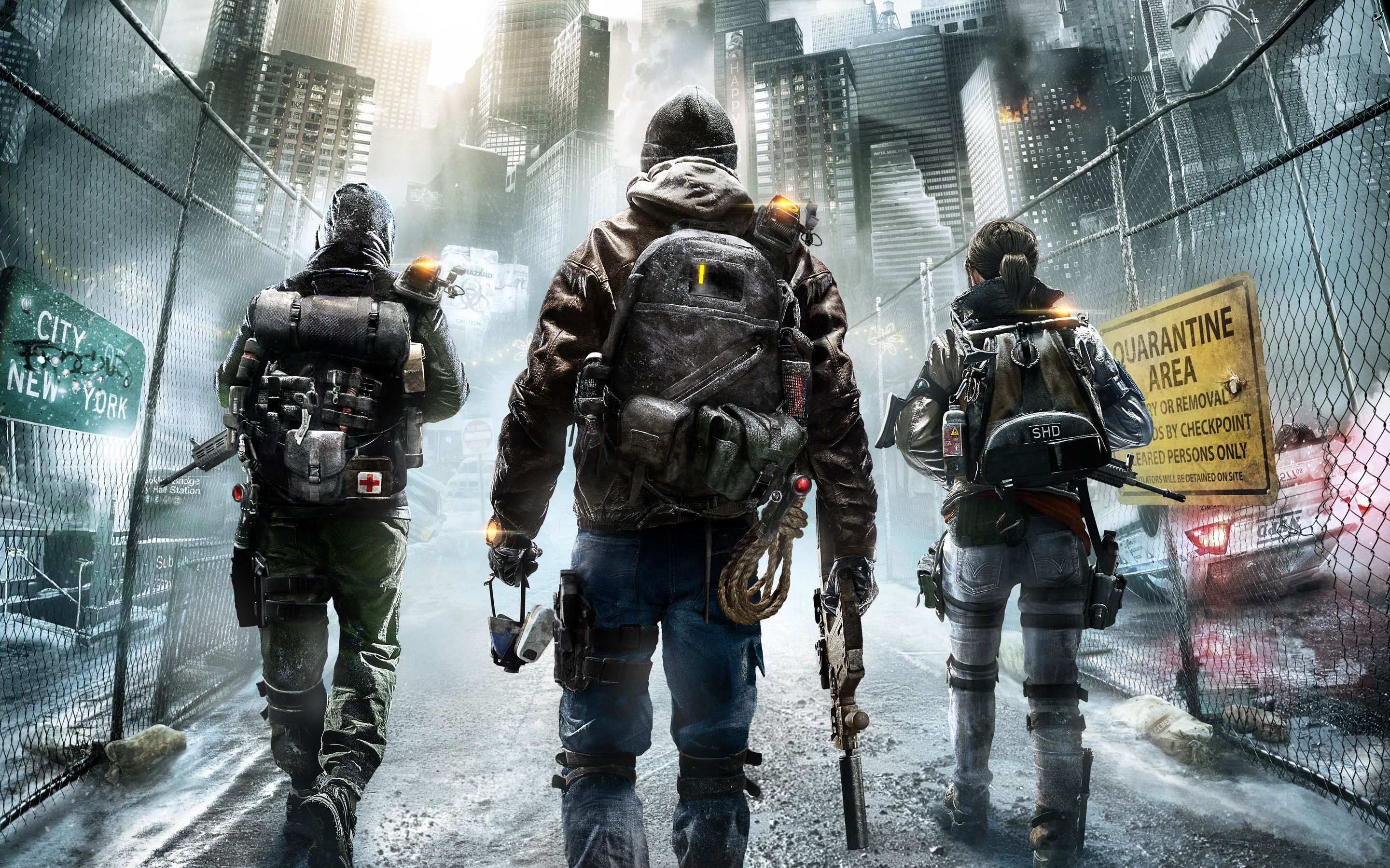tom clancys the division 2015 4k