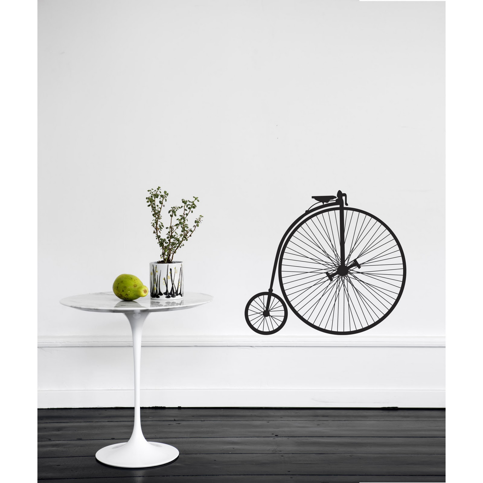 Bike-Wall-Sticker-Wallpaper-in-Room