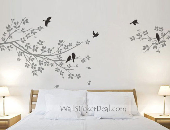 Two-branches-with-birds-wall-sticker