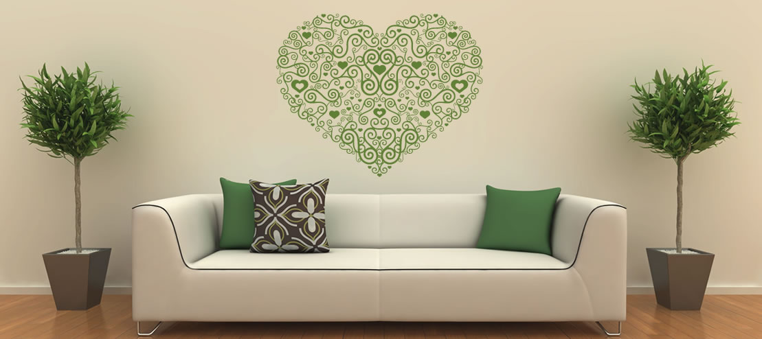 Wall Stickers Front Slider Awesome Design
