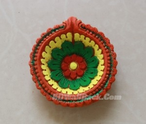happy diwali, diya decoration