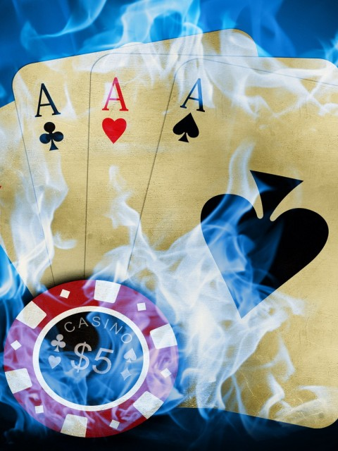 3d Chip And Playing Card Wallpapers Hd Hd Wallpapers