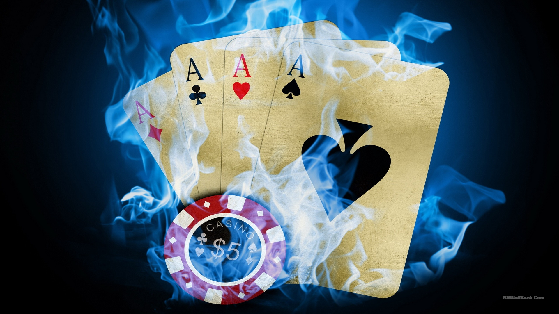 3D Chip and Playing Card Wallpapers HD