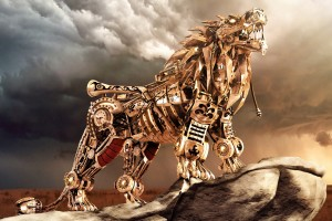 3D Lion Animals Wallpapers