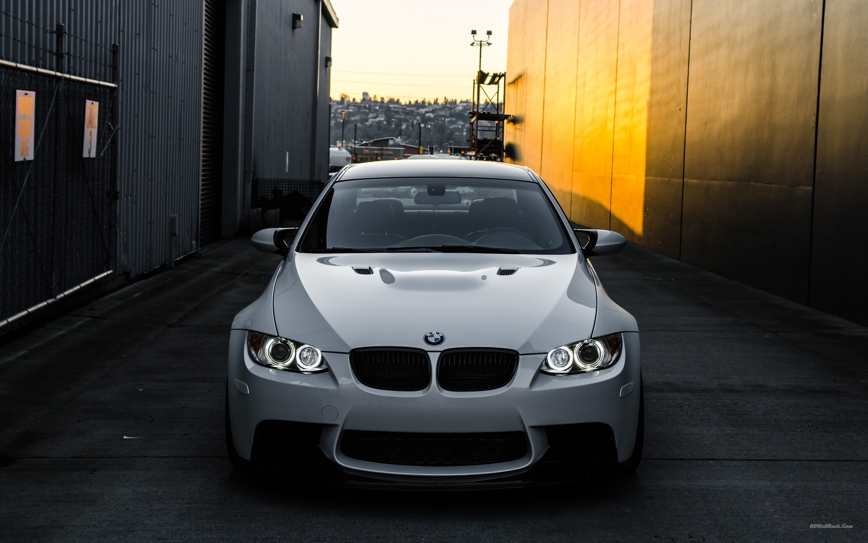 Bmw M3 White wallpaper
