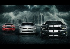 Muscle cars wallpaper
