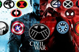 beautiul hd Captain America Civil War wallpaper