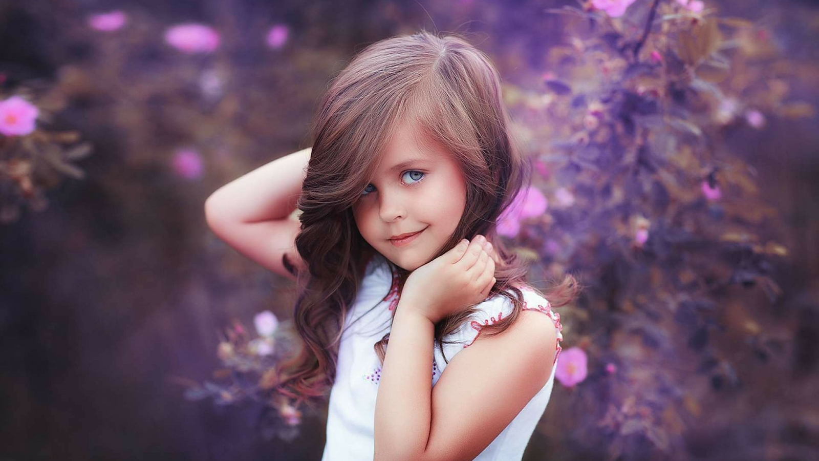 Cute Sweet Baby Girls Hd Wallpapers Download
