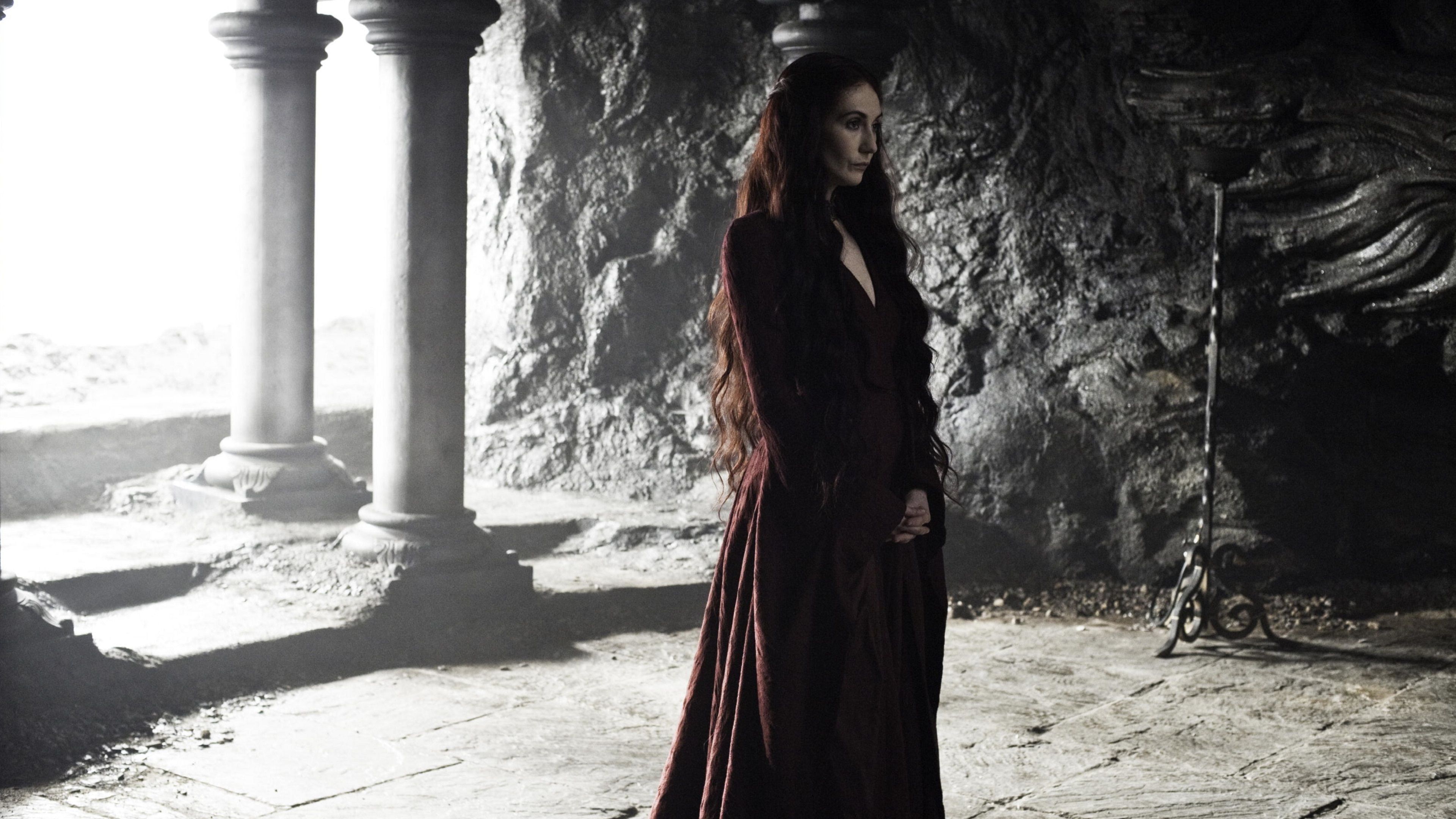 Melisandre Game of Thrones 4K Wallpaper