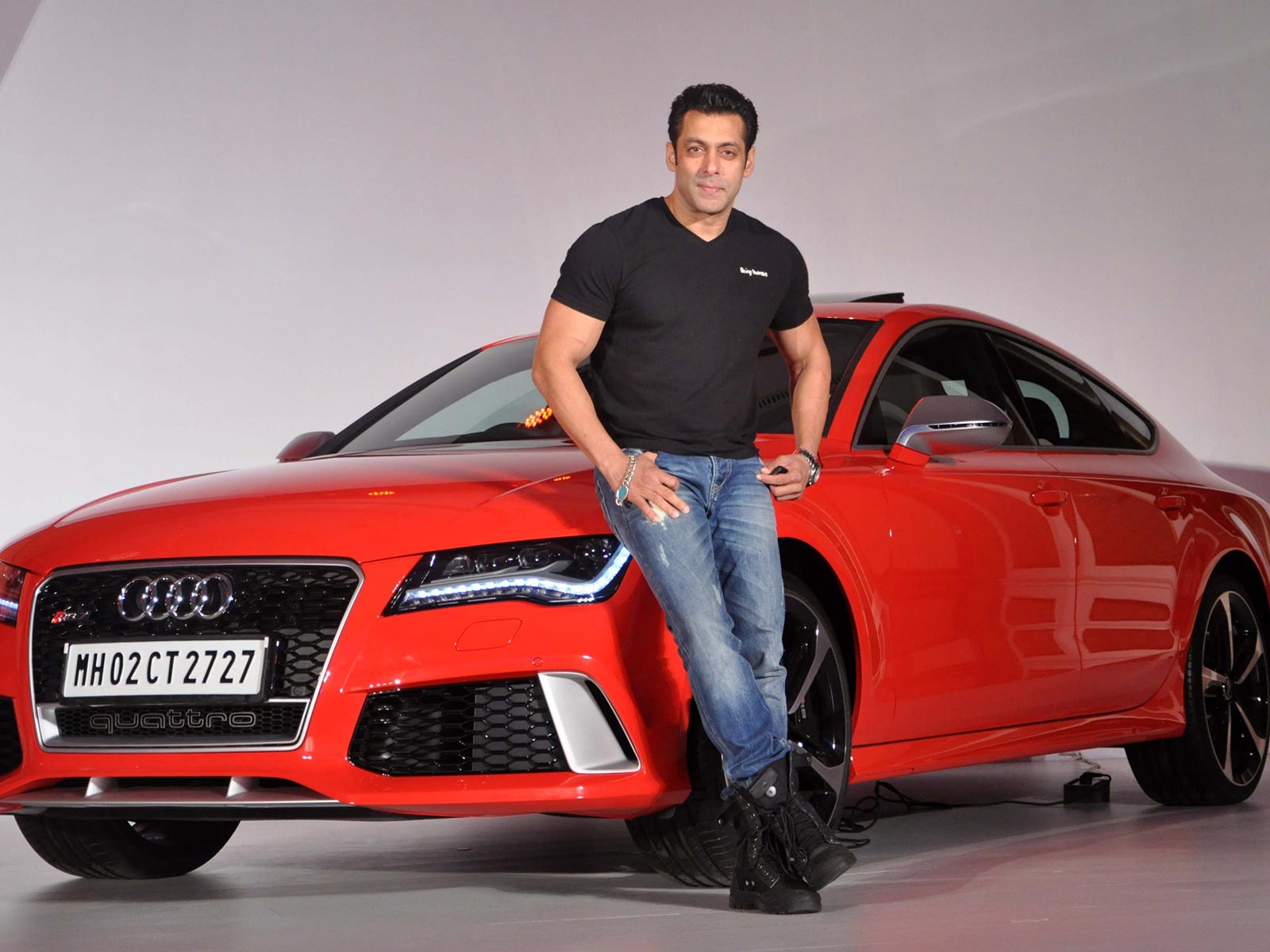 Salman Khan Audi Wallpaper