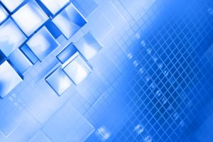 Abstract Blue Squares backgrounds