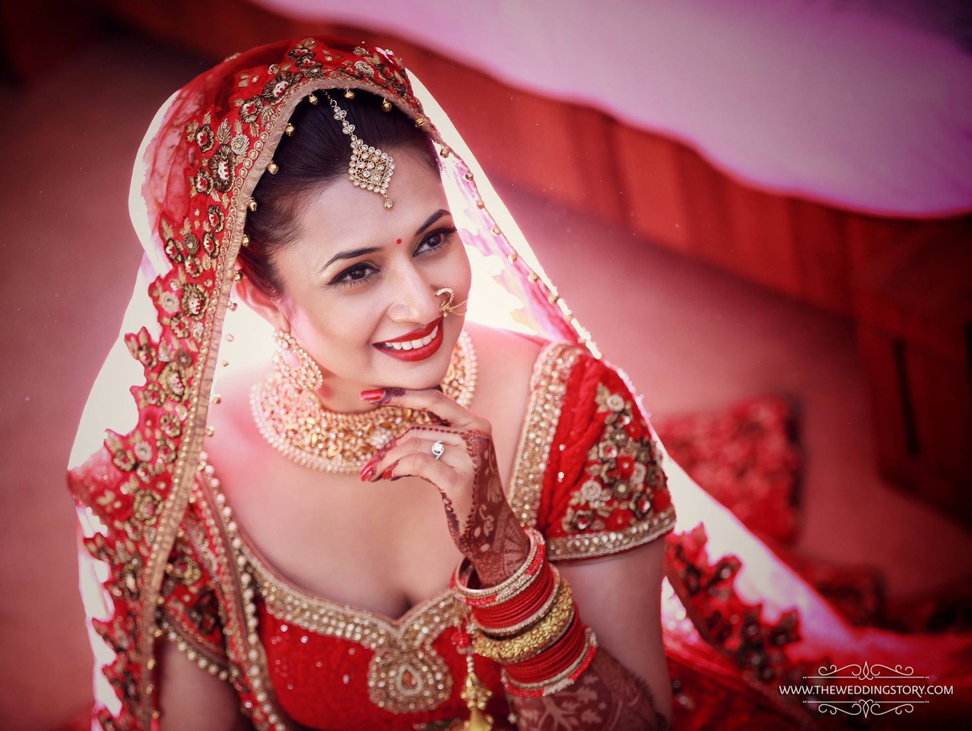 Divyanka Tripathi Bride Girl images