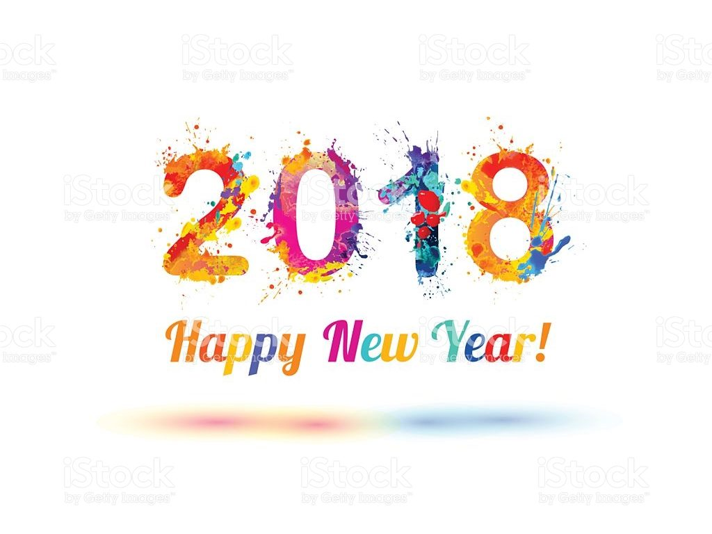 Happy New Year 2018 colors – HD Wallpapers , HD ...