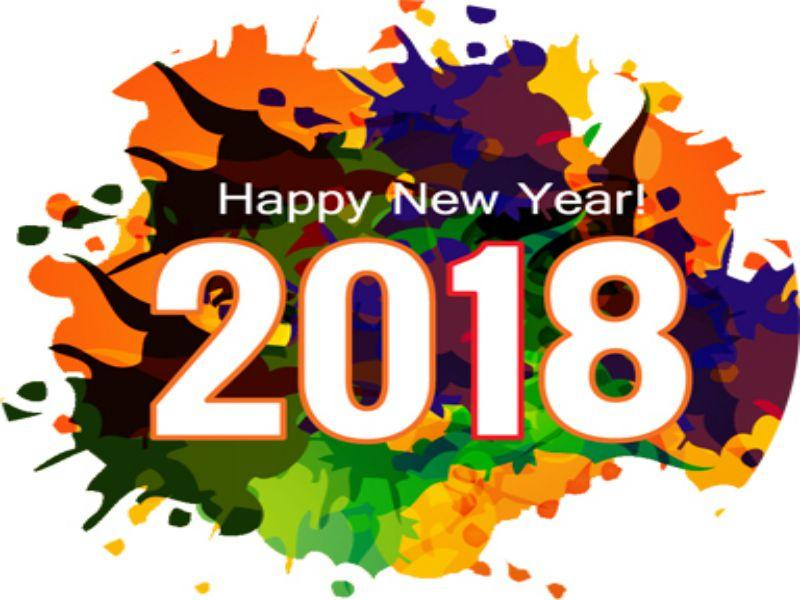 Happy New Year 2018 new images