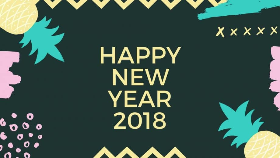 Happy new year 2018 Wishes Whatsapp Status Images Wallpapers