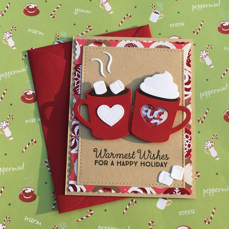 Scrapbook Christmas Cards