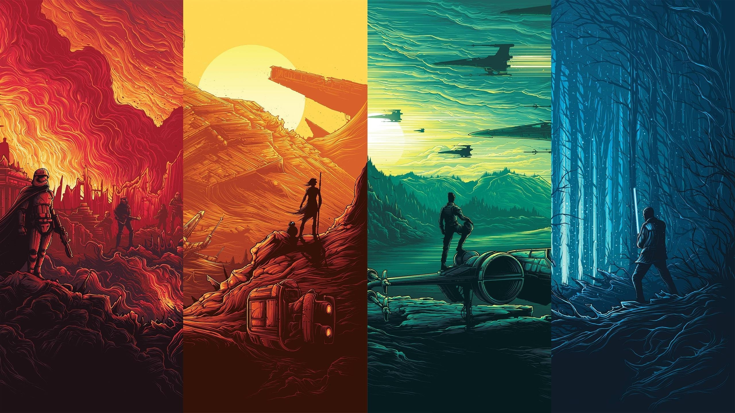 Star Wars IMAX Posters Wallpaper