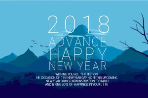 advance happy new year status images 2018