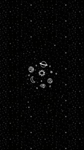 tumblr space cute wallpaper background for iPhone 6-6s
