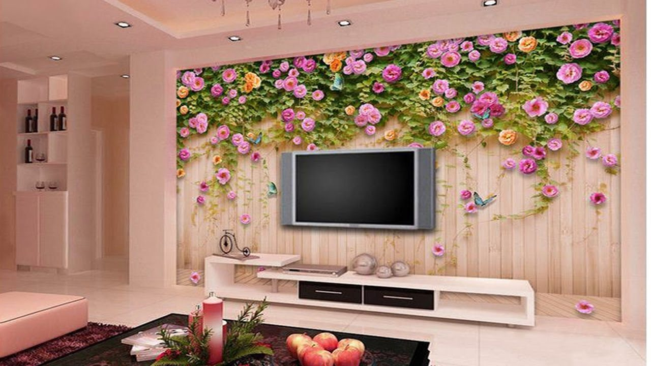 Amazing 3d wallpaper design ideas for Wallpaper design ideas