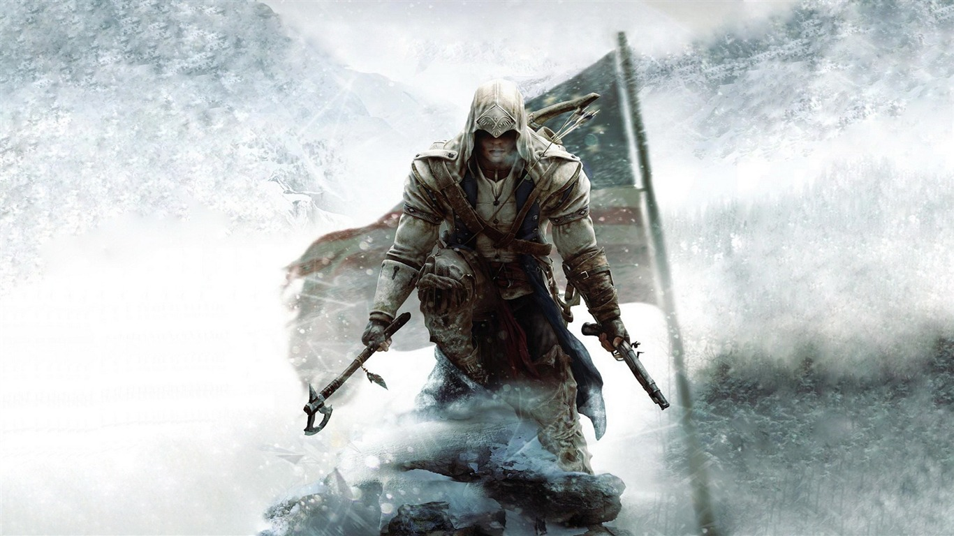 Assassins Creed 3 Game UHD Wallpaper