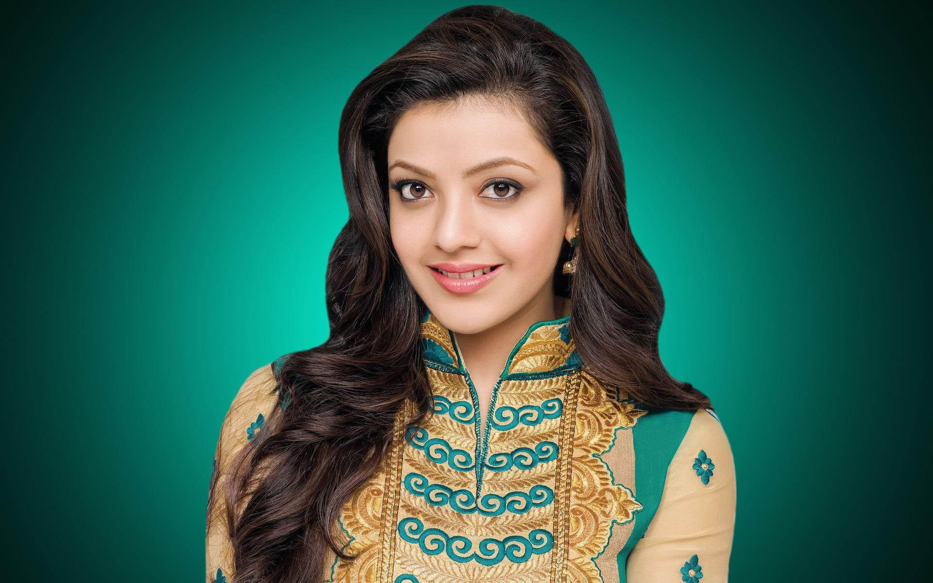 Kajal Agarwal Full HD New Wallpaper Latest