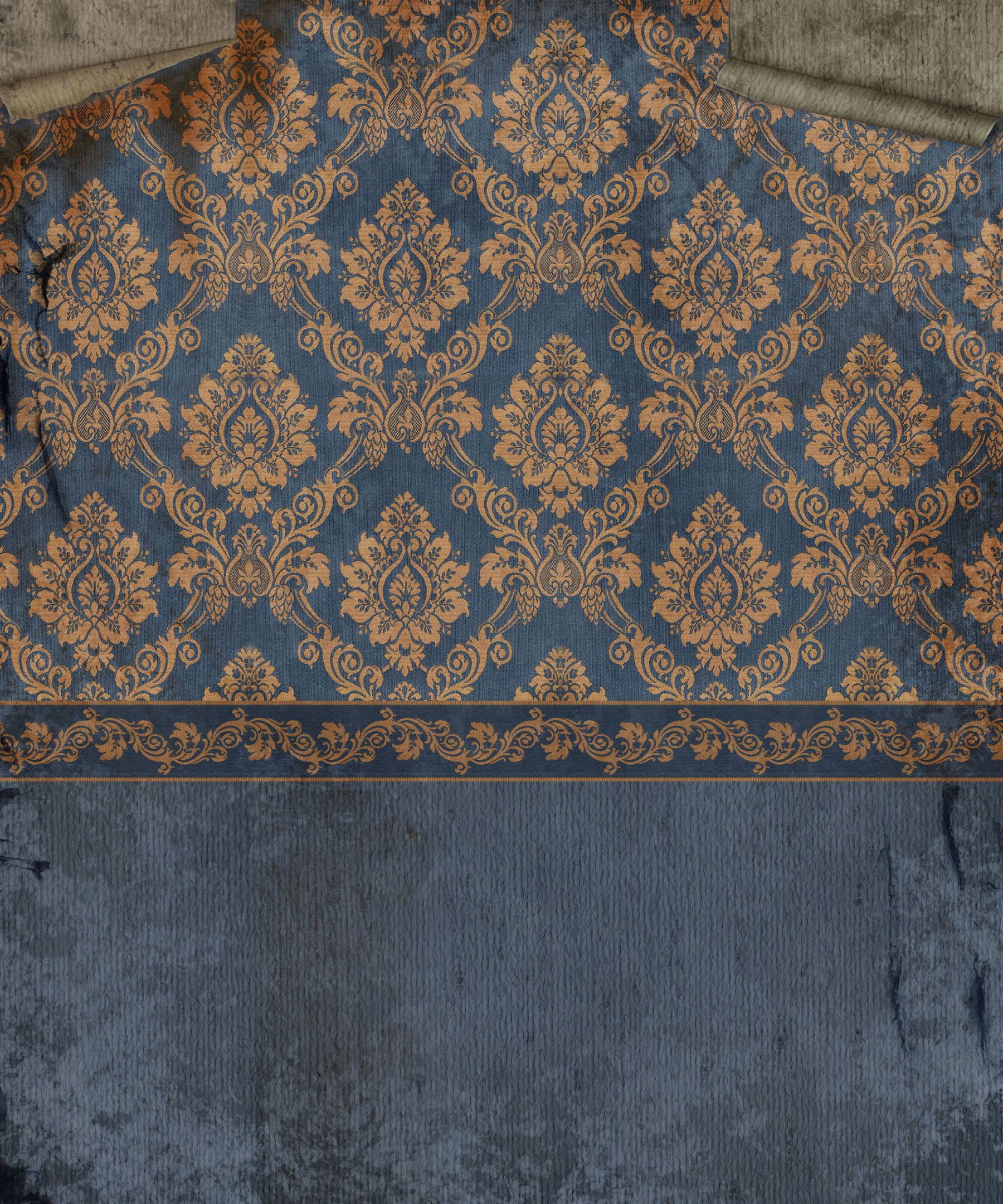 Old European style wall wallpaper