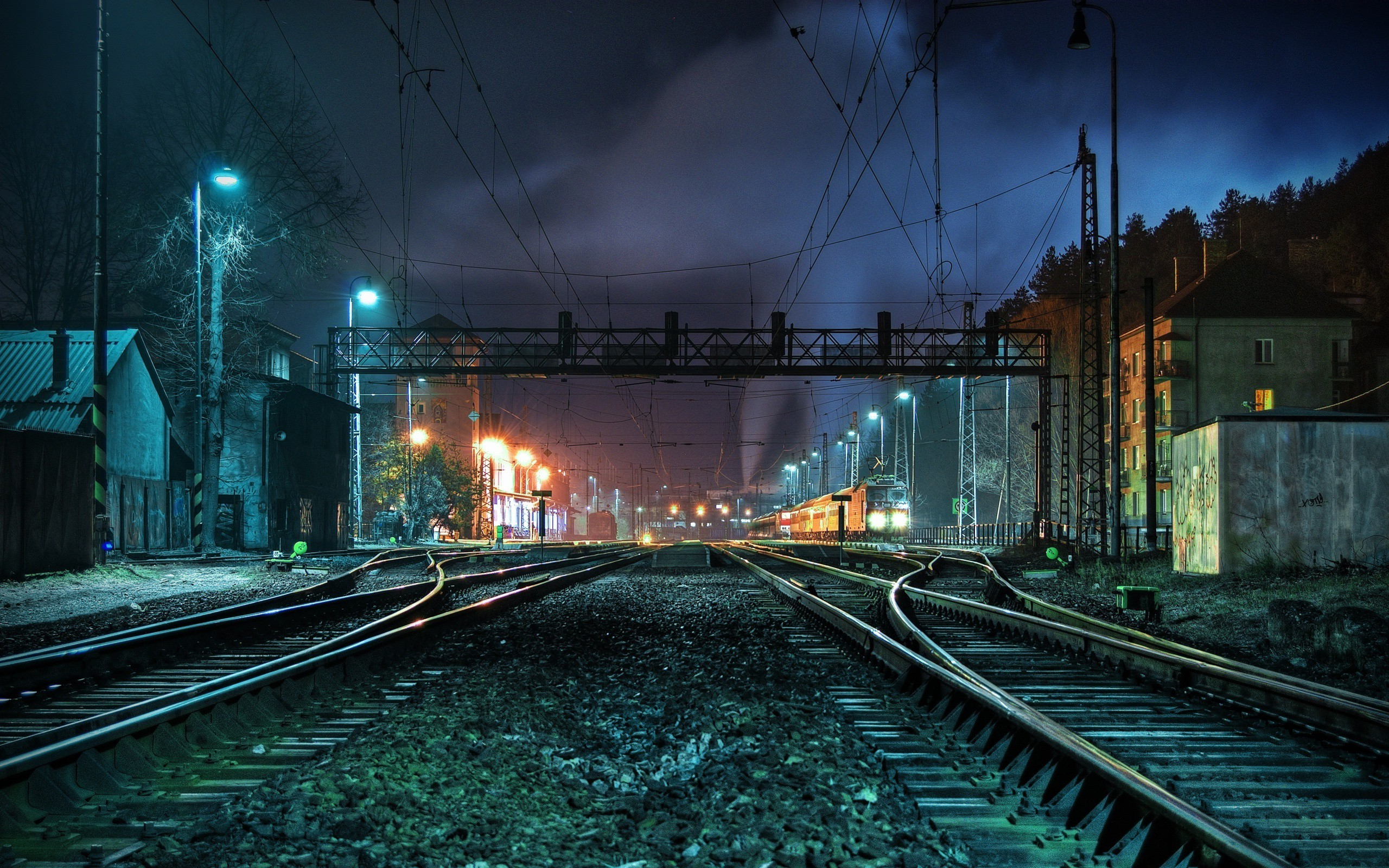 awesome railway road image