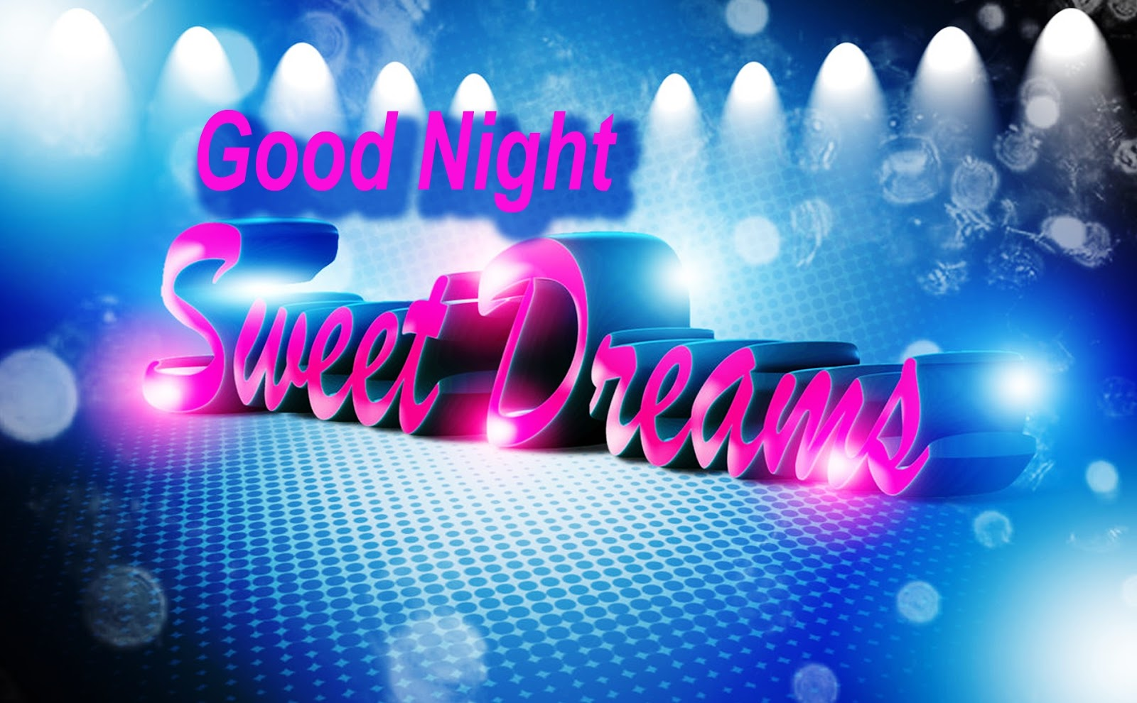 3D Cute Good Night Wallpapers