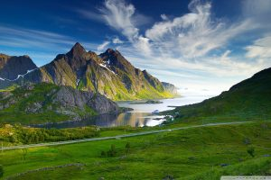Download Nordic Landscape HD Wallpaper