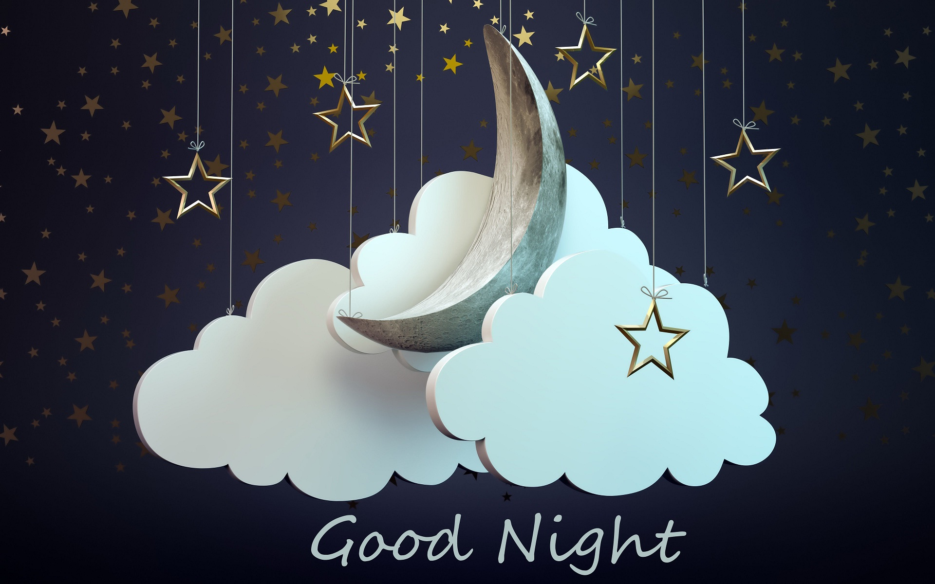Good night friends wishes HD wallpaper