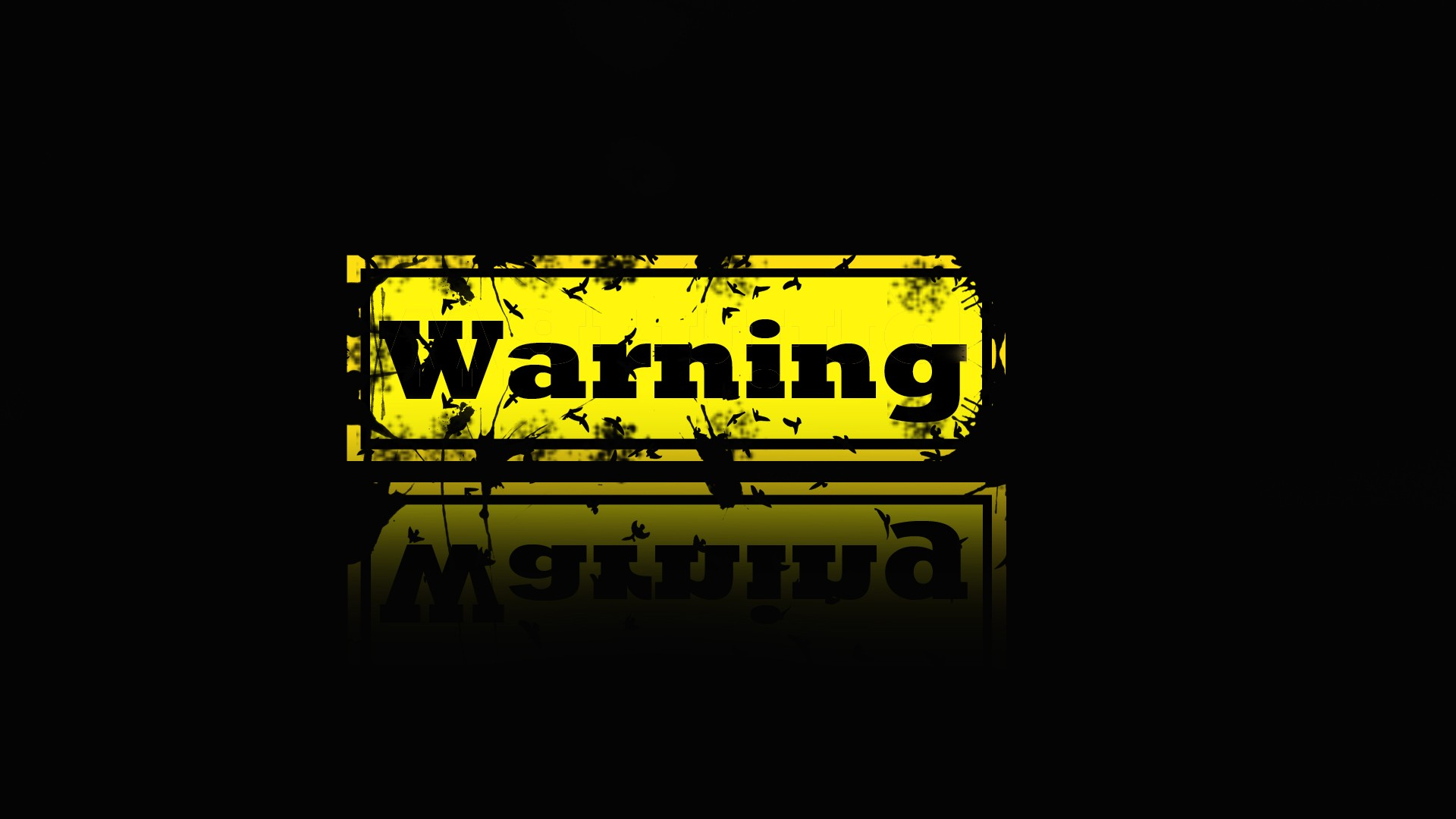 High Quality Warning Wallpapers