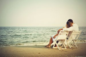 Love Couple on Beach Wallpapers