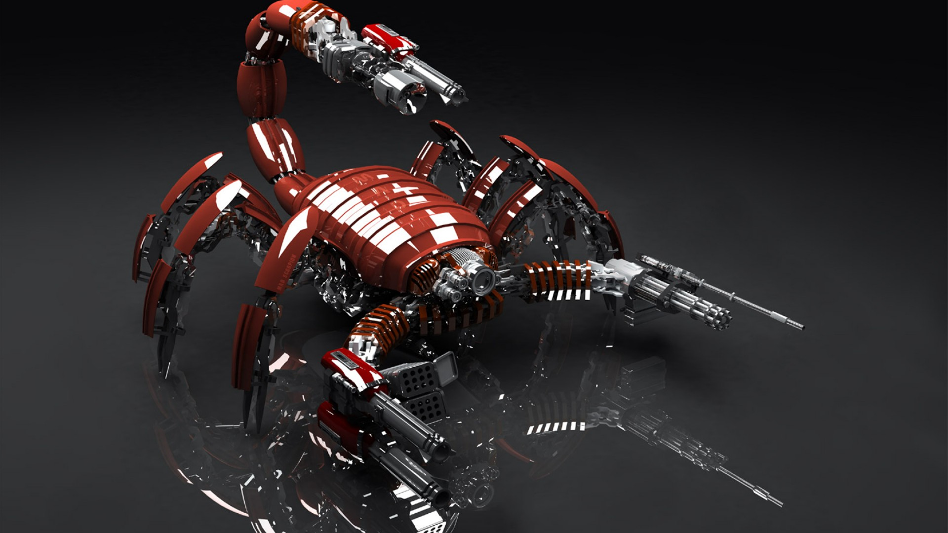 Scorpion robot widescreen desktop wallpaper