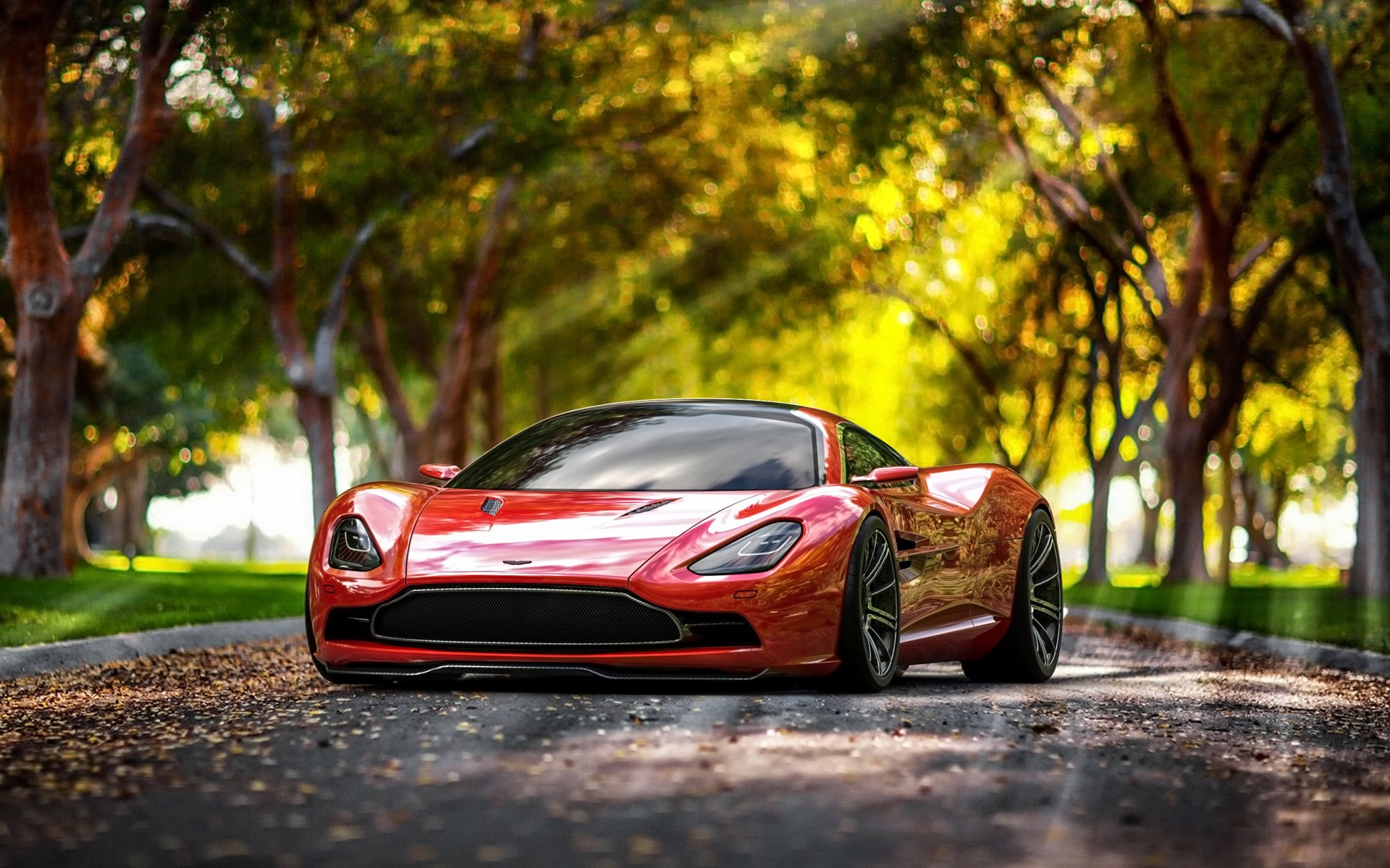 The Stunning Aston Martin DBC Concept wallpaper