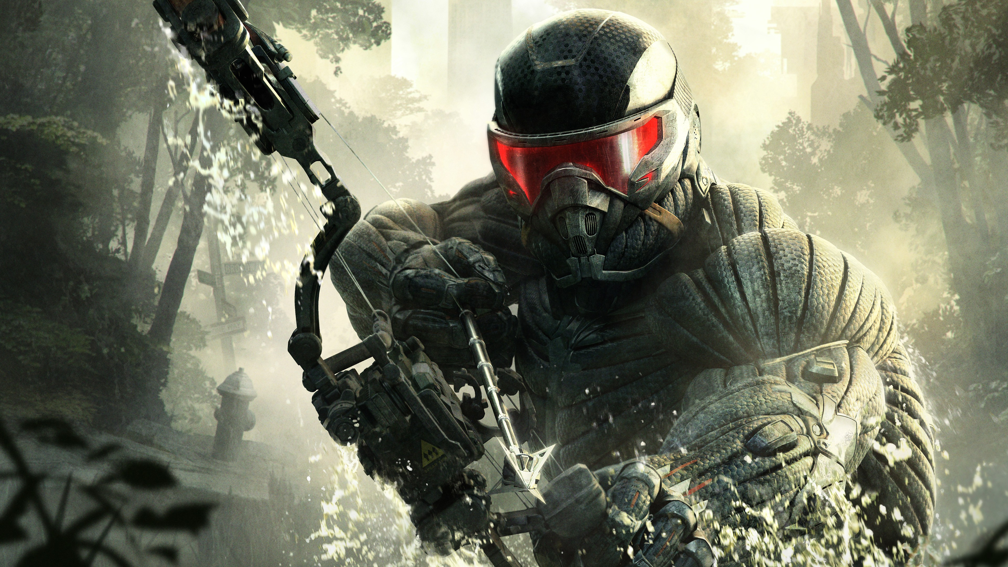 crysis 3 official game wallpaper,Crysis 3 4K HD Desktop Wallpaper