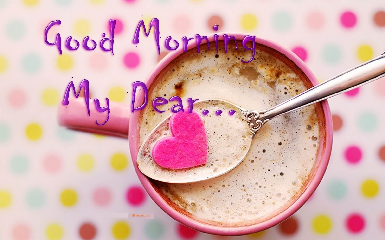 good morning my dear wishes greeting cards hd images free