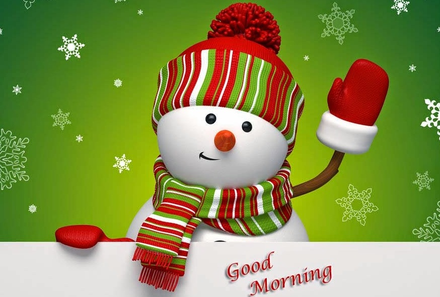 winter snowman green hd