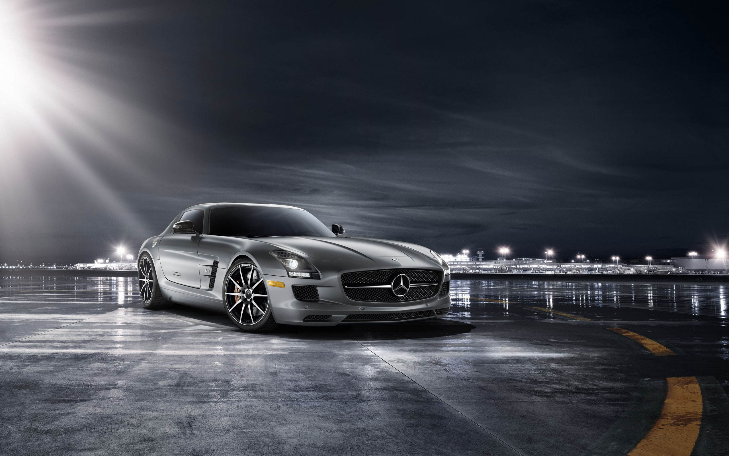 mercedes benz sls amg 63 hd background