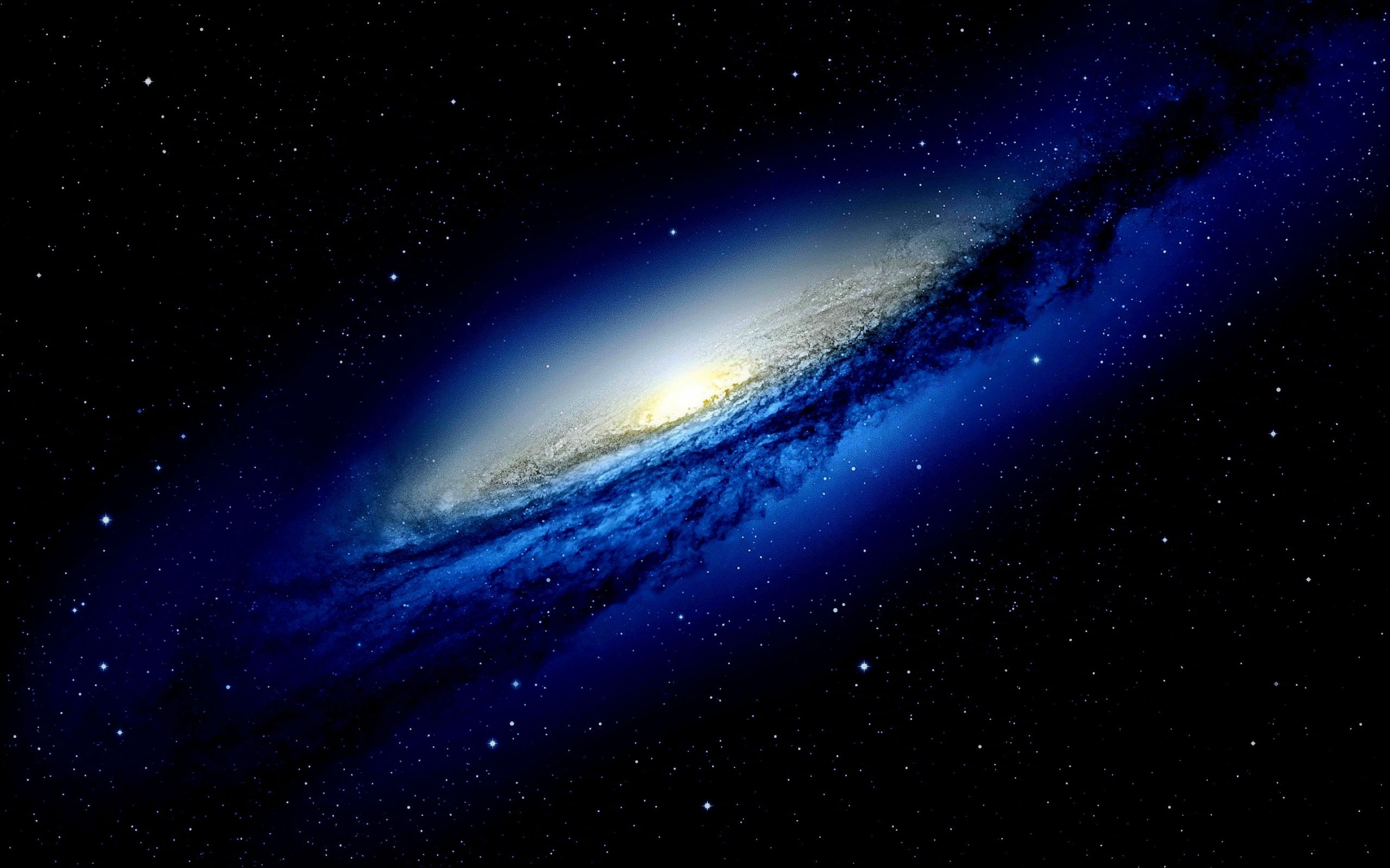 galaxy wallpaper background blue