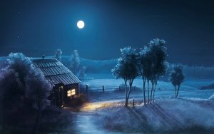 wallpaper full hd night home