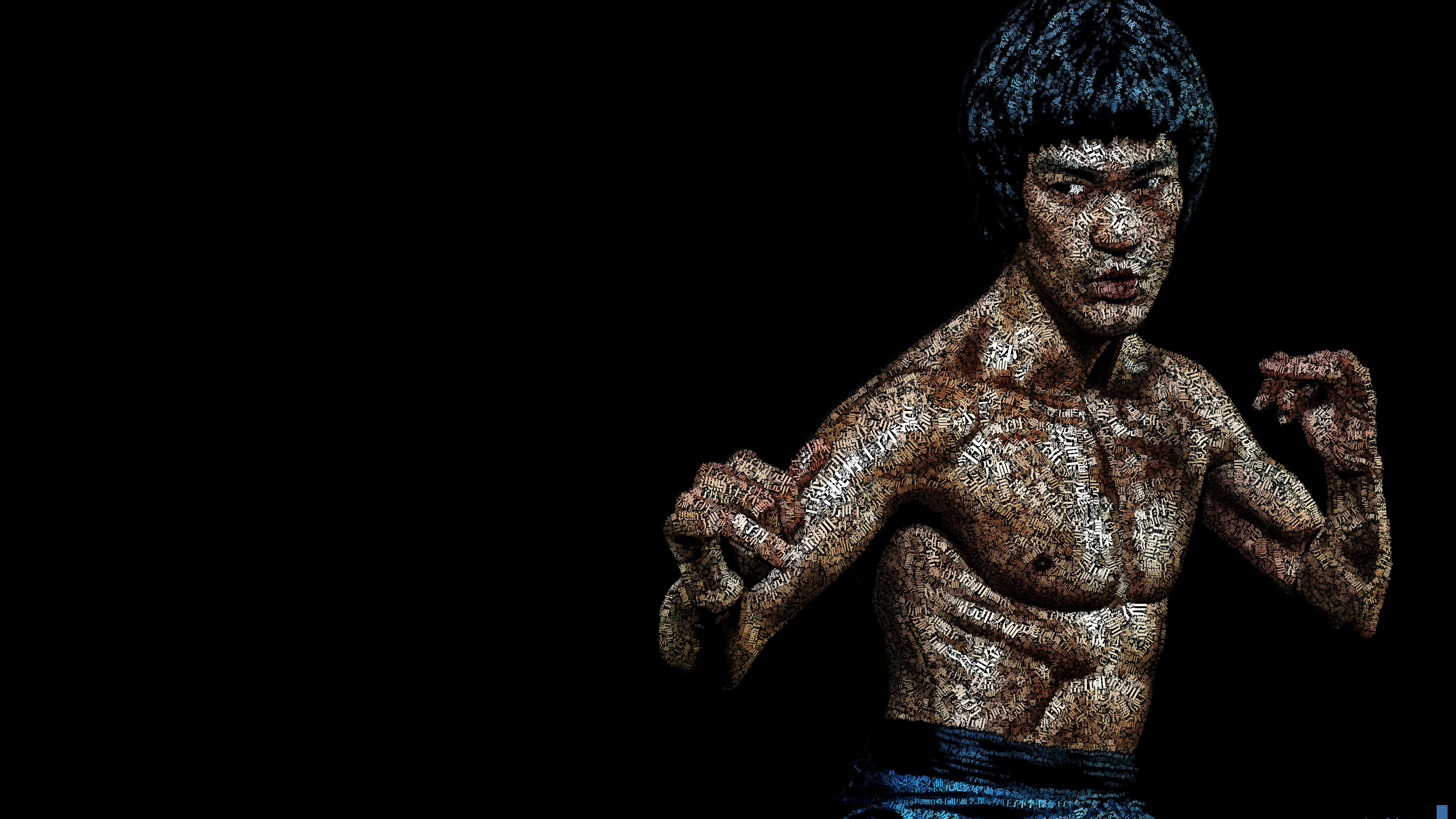 4K Portrait Pictures Bruce Lee