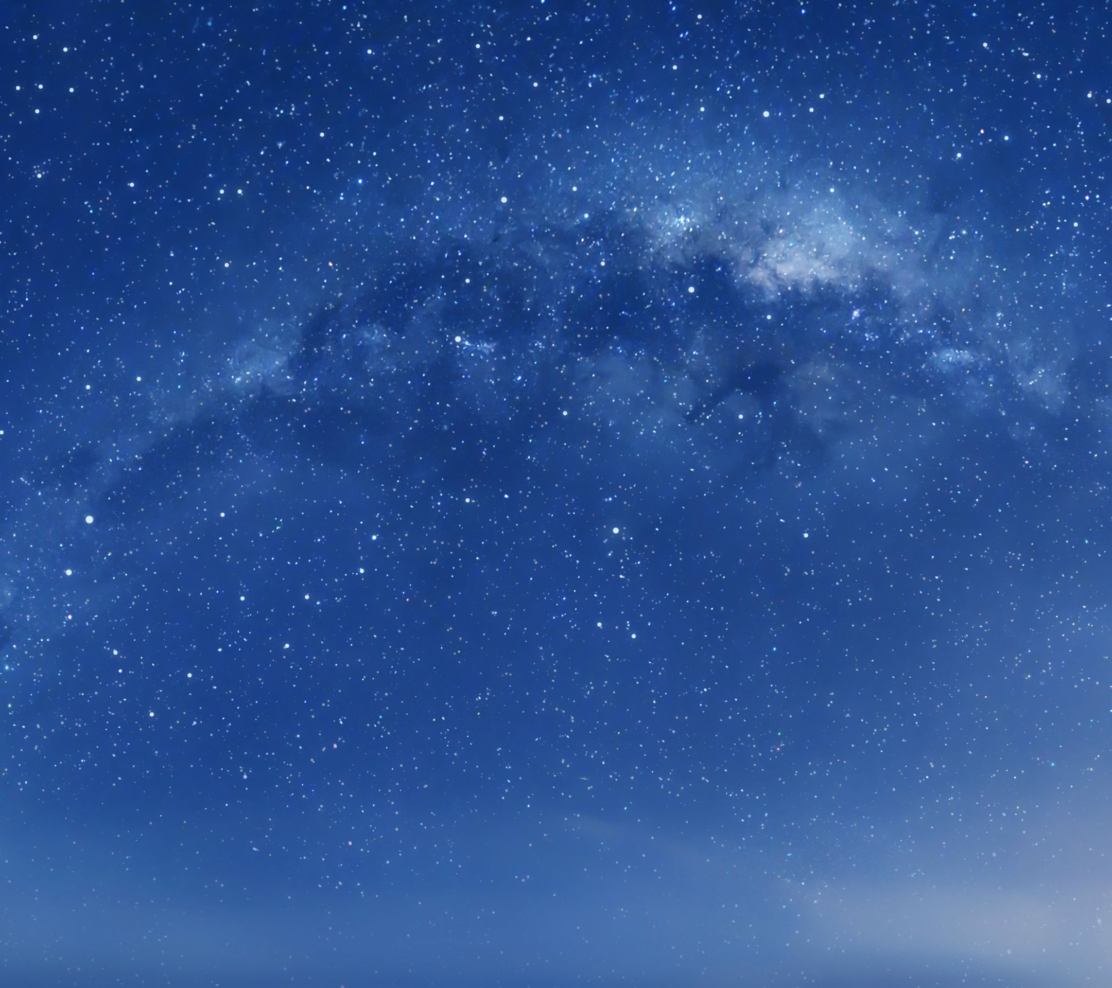 Apple iOS 8 Default Milky Way Galaxy Desktop 4K Wallpaper